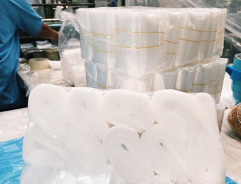 ถุงพลาสติกชนิด LDPE